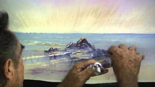 How To Paint A Sun Rise