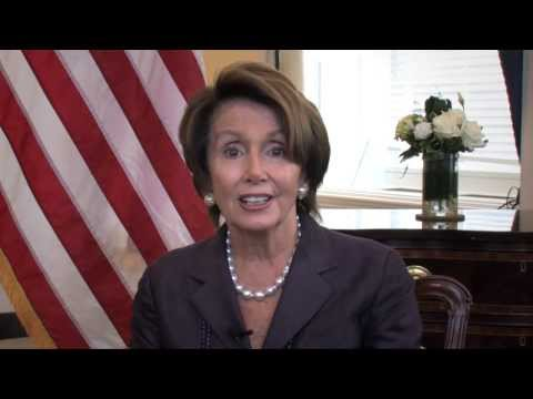 Connected: House Democratic Leader Nancy Pelosi