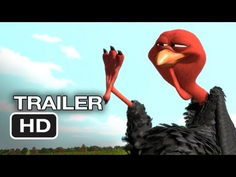 Free Birds Official Trailer #1 (2013) - Owen Wilson Animated Movie HD