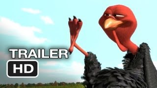 Free Birds Official Trailer #1 (2013) Owen Wilson