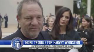 More Trouble For Harvey Weinstein | Studio 10