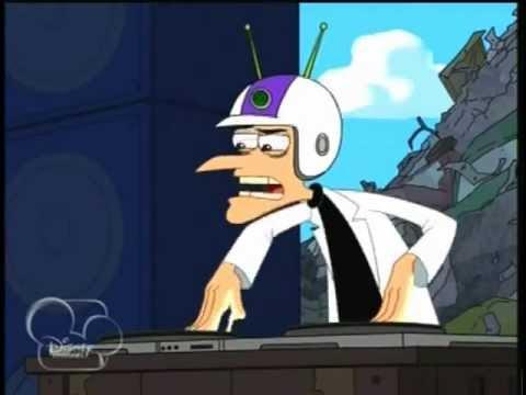Phineas e Ferb ''Ornitorrinco me Controla Aqui'' HQ