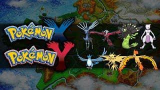 Pokemon X And Y Legendary Pokemon