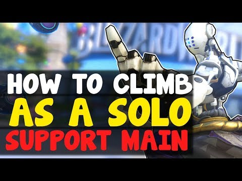 How To Climb As A Support Main | Overwatch Competitive Season 9 Ranked Tips / Guide - Escape Gold