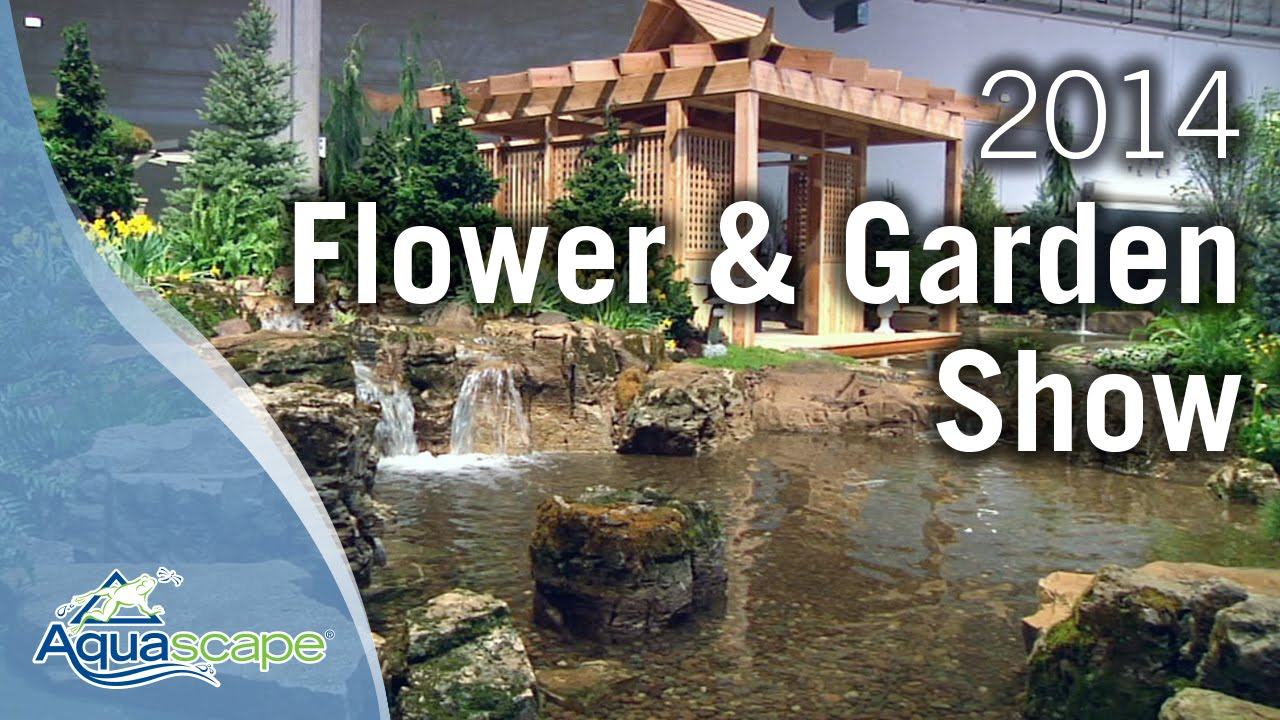 Chicago flower garden show 2014 aquascape designs youtube for Chicago flower and garden show