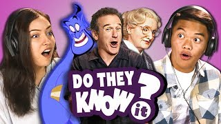 DO TEENS KNOW ROBIN WILLIAMS MOVIES? (REACT: Do They Know It?)