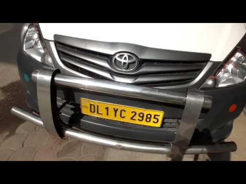 Rent Hire Rental toyota innova car delhi with driver