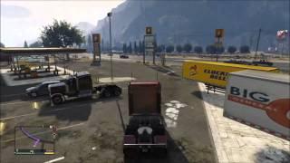 Grand Theft Auto 5 Truck Gameplay [HD]