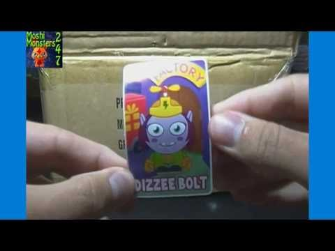 Moshi Monsters Moshlings Series 6 Blind Bag Pack Box Opening Part 1