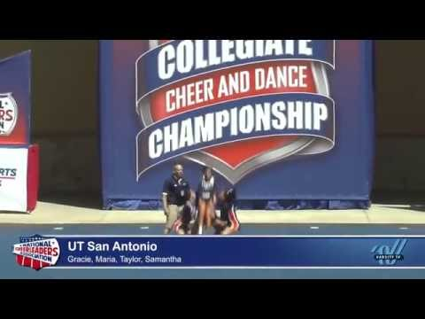 UTSA All-Girl: Group Stunt BTA at NCA 2014