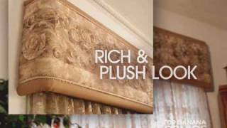 Window Coverings Ideas: Top Banana Cornice How To Make A