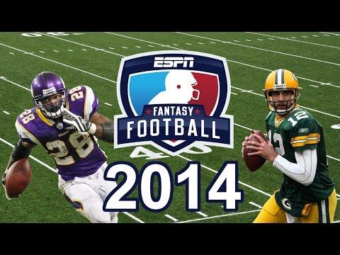 Fantasy Football 2014 Fantasy Draft Help Mock Draft