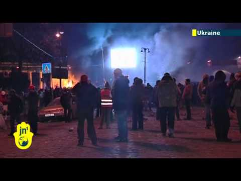 Unrest in Ukraine: violence continues through night as gov't says