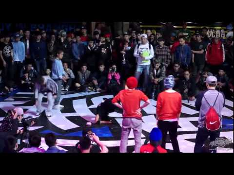 BGIRL 2VS2 FINAL | BBOY IN SHANGHAI 2014