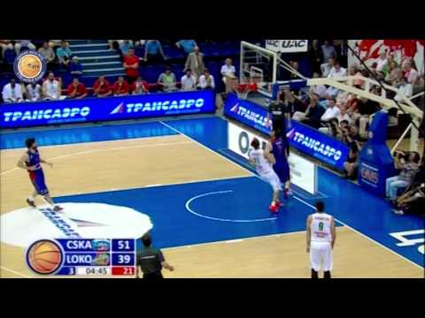 1/4 playoffs. CSKA - Lokomotiv-Kuban Game 5 Highlights