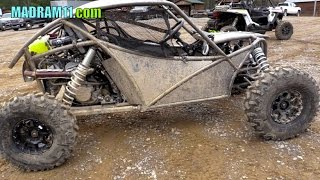 ORB CUSTOM BUILT TURBO XP 1000 SINGLE SEATER RZR ROCK BOUNCER. MadRam11 Багги Видео. Buggy Video.
