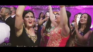 AJD || AWARD WINNING DJ || LIVE FOOTAGE, LONDON, UK (INDIAN / ASIAN / PUNJABI WEDDING)