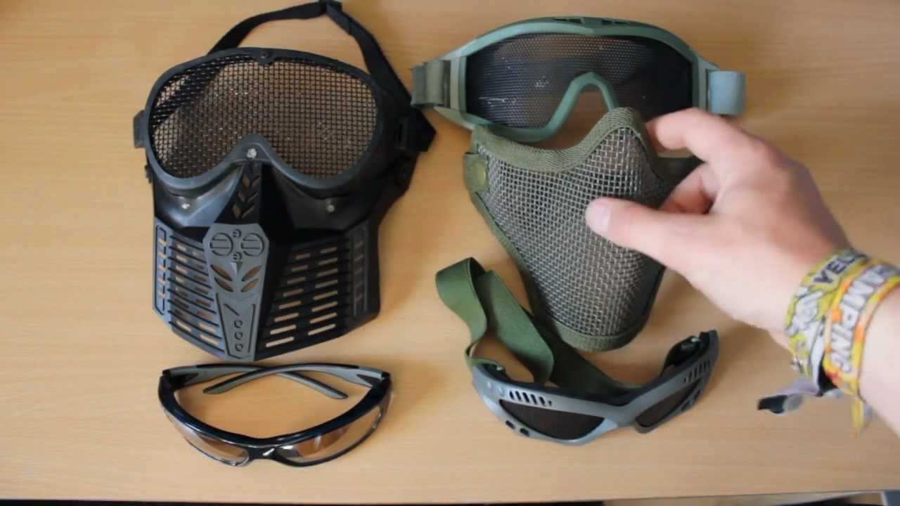 Whats The Best Face Protection For Airsoft Youtube