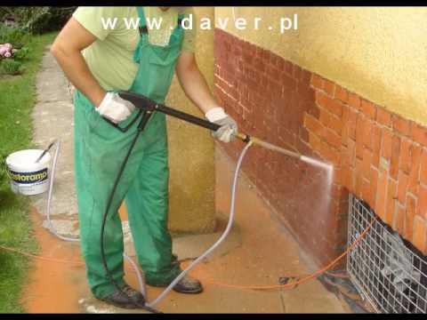 hydropiaskowanie cegły