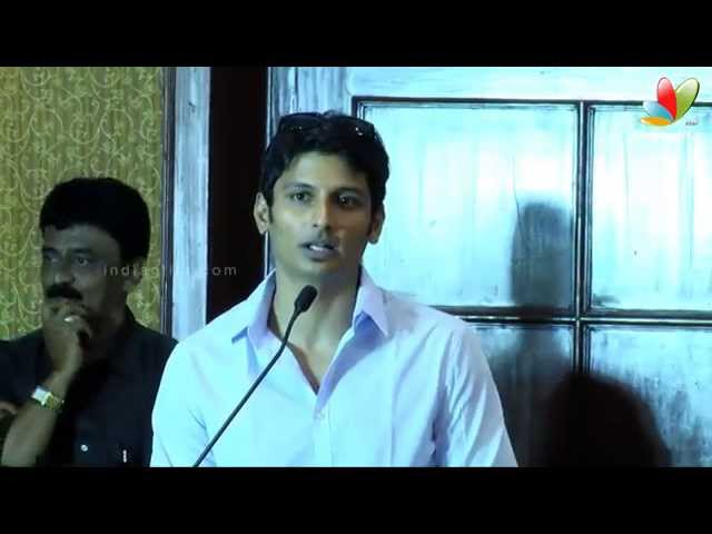 Jeeva and Thulasi Nair at Yaan Movie Press Meet | Ravi K. Chandran, Thamarai, Jiiva