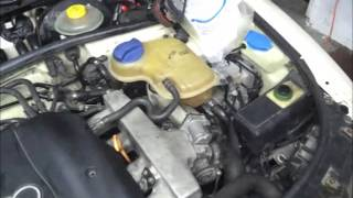 Cleaning Heater Core And Bleeding 98 Audi A4 B5 AEB 1.8t