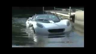 Su Altın'da Gidebilen Spor Otomobil
