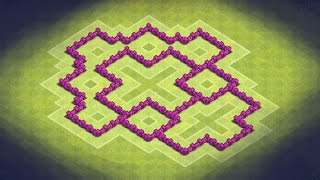 Clash Of Clans TH6 Farming Base (TheHouse) Effective