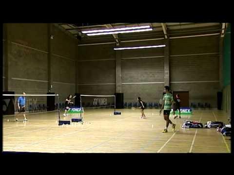 Indonesian Badminton Training