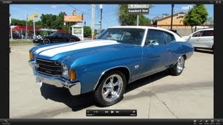1972 Chevrolet Chevelle SS 454 Start Up, Exhaust, And In