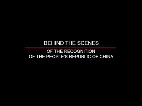 Behind the Scenes of the Recognition of the People's Republic of China