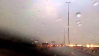 Johannesburg Storm on N1 & Tips for driving in the rain in description