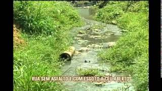 Moradores sofrem com rua sem asfalto e esgoto no Bairro Piratininga, em Venda Nova