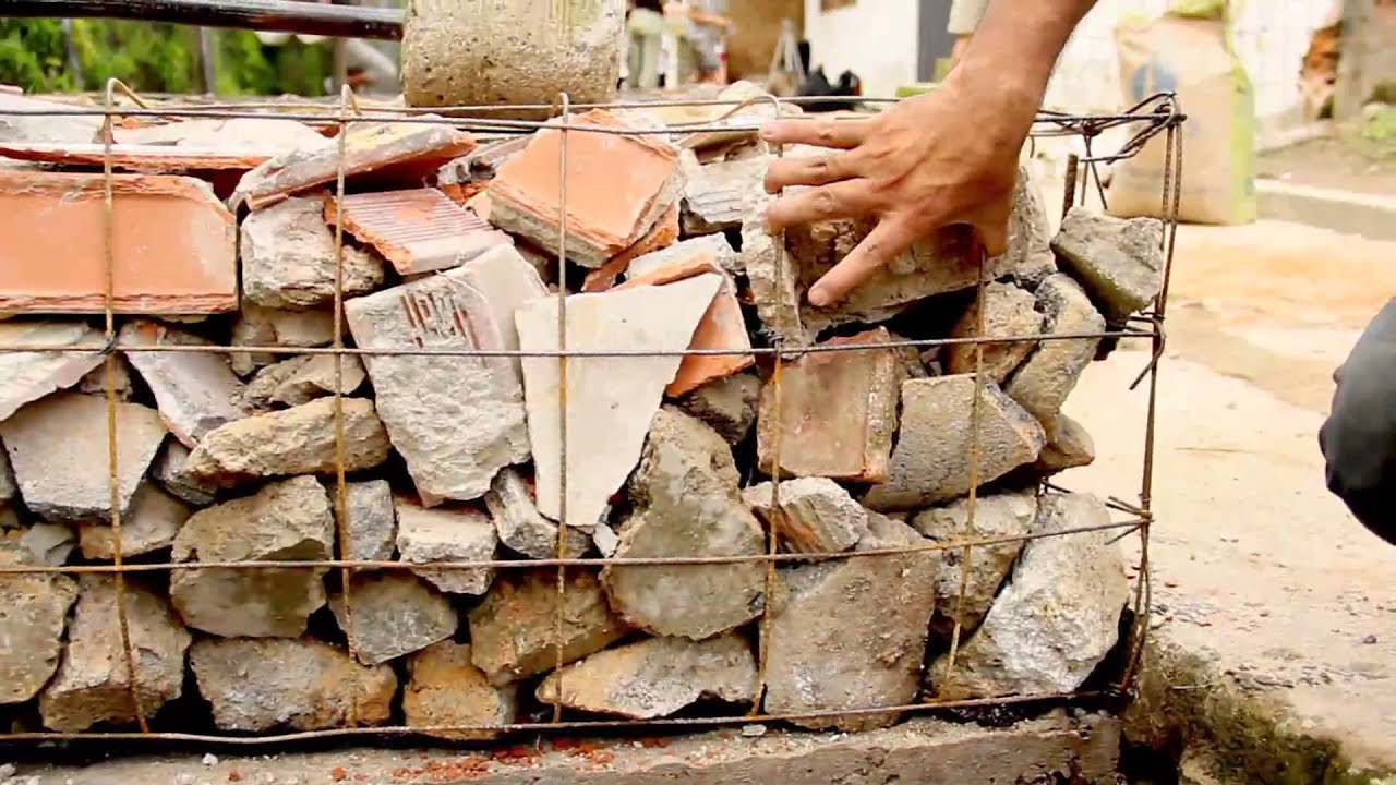 Claves para construir un muro de gavi n youtube - Muros de gavion ...
