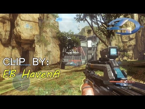 EB HavenA :: Neutral Flag Killpocalipse BR and Beam Rifle on Exile - Halo 4