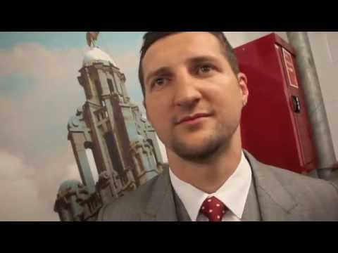 CARL FROCH TALKS BELLEW / CLEVERLY BUST UP, JAMES DEGALE & CHAVEZ JR LAS VEGAS FIGHT