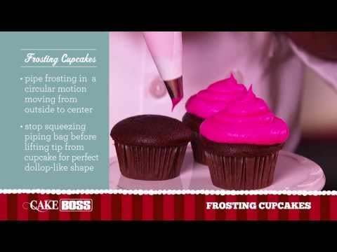 How To Frost Cupcakes Like A Pro - Dessert Decorating Tips & Tricks - Cake Boss Baking