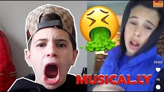 REACTING TO MY MUSICAL.LYS 🤮 CRINGY   Christian Lalama