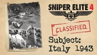 "Sniper Elite 4 - ""Italy 1943"" Sztori Trailer"