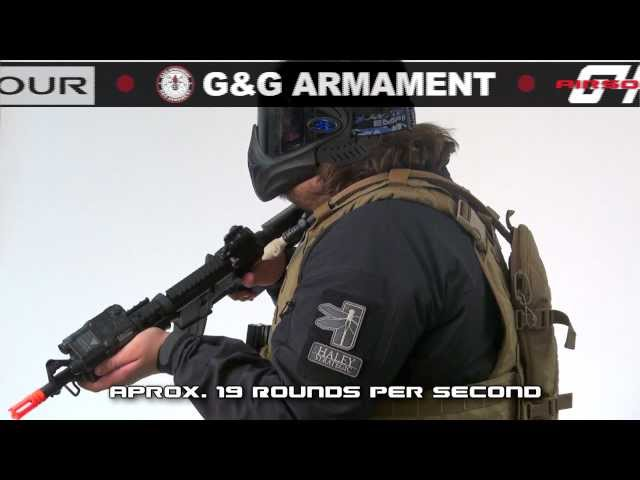 "Airsoft GI - Lancer Tactical M4 MK18 Vs SOCOM Gear Noveske 7"" And KWA  CQB ROF/Range Test"