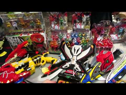 Power Rangers & Super Sentai Toy Overload!