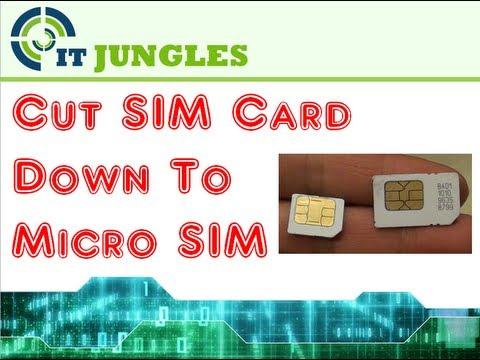 micro sim card template pdf
