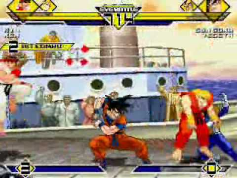 dbz vs street fighter - photo #24