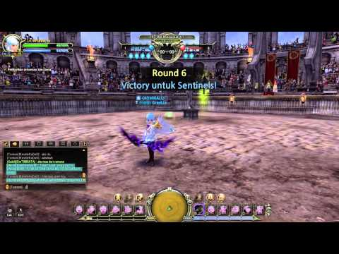 FLATH SHOWMATCH #16 GraviLLa ( Artillery ) vs TigerBait ( Sniper ) - Dragon Nest Indonesia