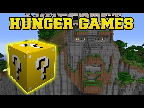 Minecraft: TEMPLE OF NOTCH HUNGER GAMES - Lucky Block Mod - Modded Mini-Game
