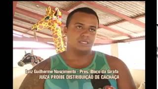 Ju�za pro�be distribui��o de cacha�a em tradicional bloco carnavalesco na Zona da mata