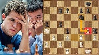 Moment of Truth! | Carlsen vs Ding Liren  | ECCC (2018)