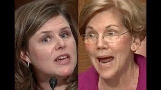 """TRY THIS STORY ON SOMEONE ELSE!!!"" Elizabeth Warren GETS PISSED OFF & DESTROYS Big Pharma Lobbyist"