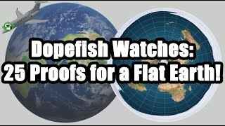Youtuber reacts to videos of people explaining why the earth is flat. NSFW language.