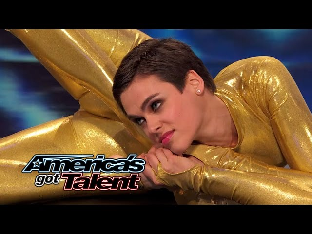 Nina Burri: Spectacular Swiss Contortionist Gets Twisted - America's Got Talent 2014