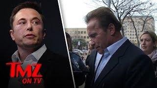 Schwarzenegger Calls Out Elon Musk! | TMZ TV